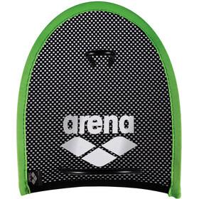 arena Flex Palette da nuoto, nero/verde